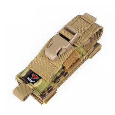 Folding Swiss Knife Belt Sheath Molle Gear Accessories Tactical Pouch